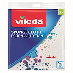 PANNO SPUGNA COLLECTION VILEDA X3 DESIGN