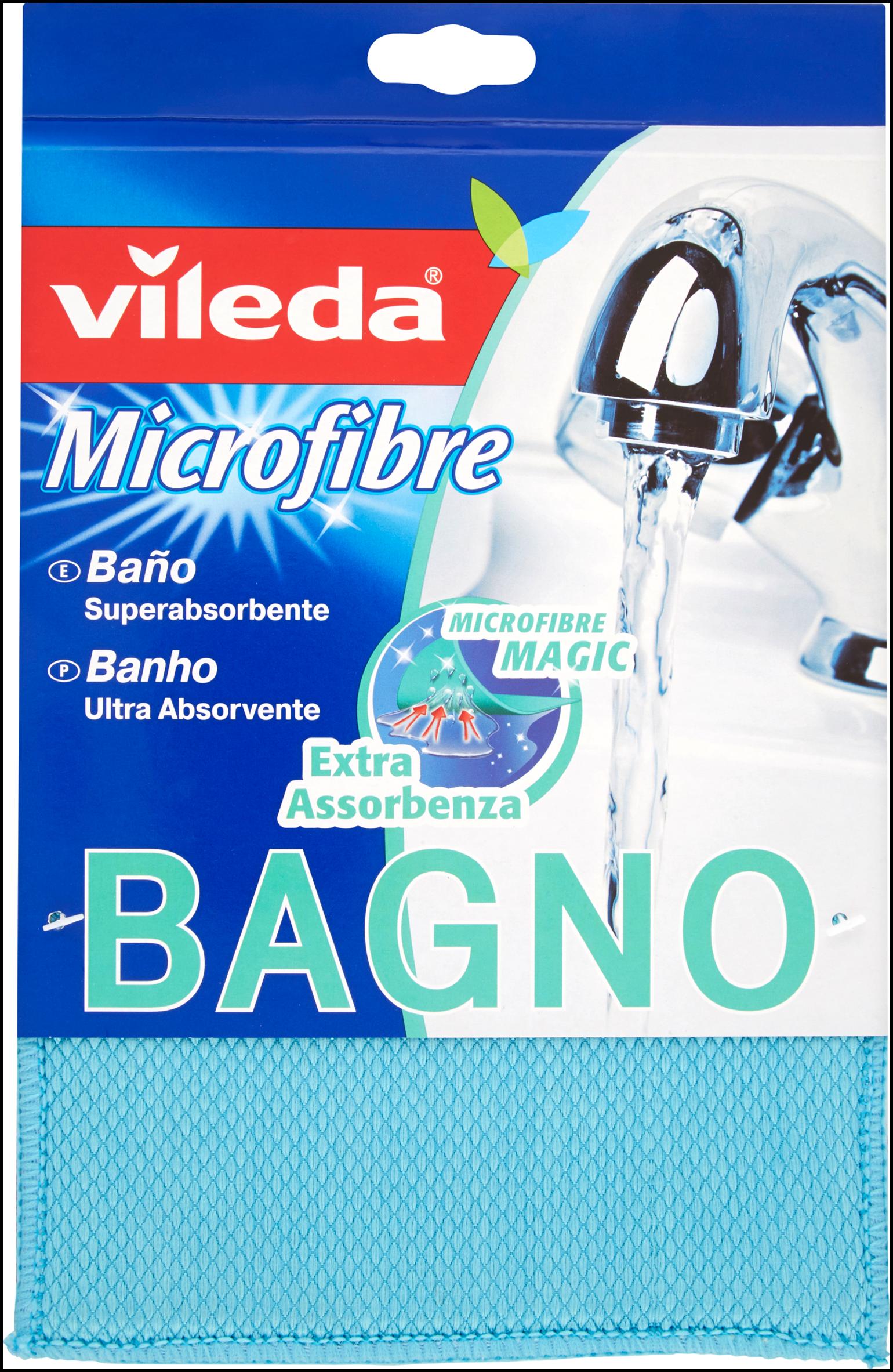 PANNO VILEDA MICROFIBRA BAGNO