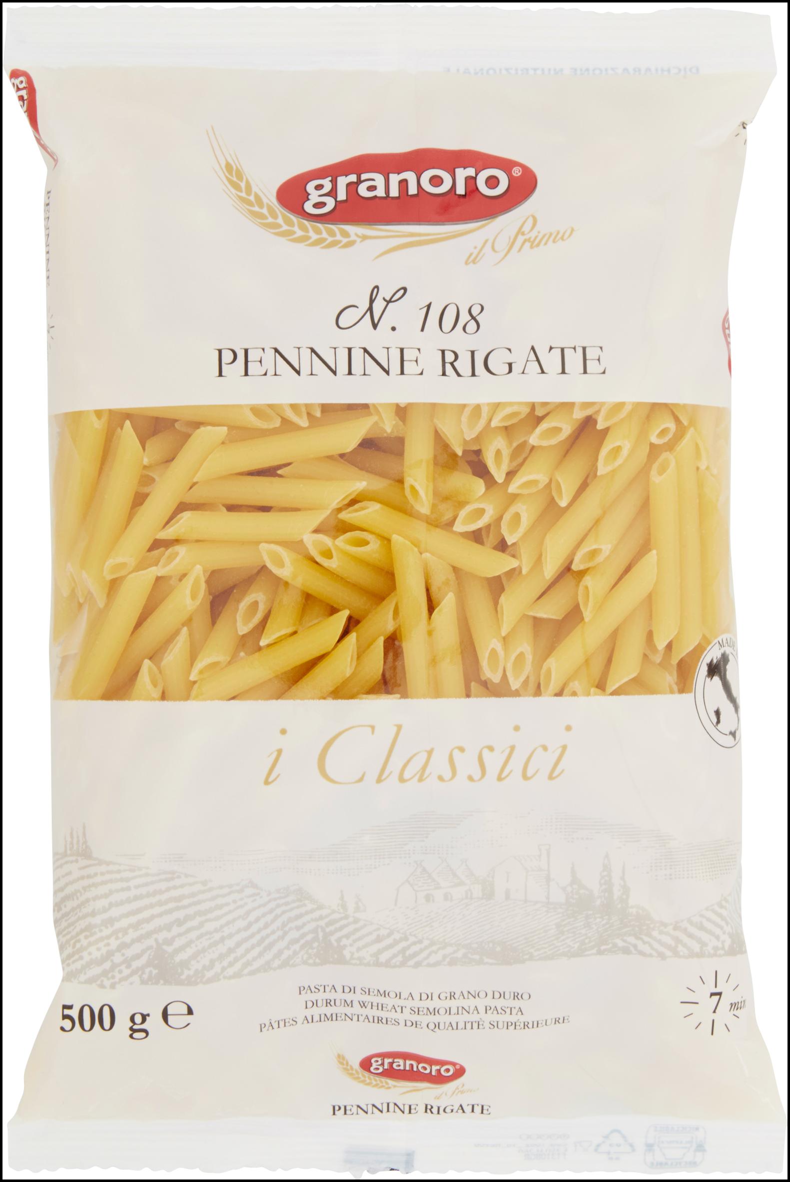 PENNINE RIGATE GRANORO 500G N.108