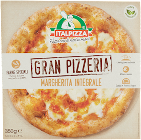 PIZZA MARG.100%INTEGRALE ITALPIZZA 350G