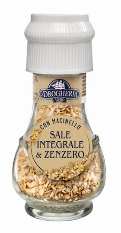SALE INTEGRALE&ZENZERO DROGHERIA 35G