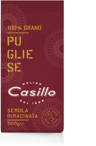 SEMOLA RIMAC.CASILLO 500G 100% PUGLIESE