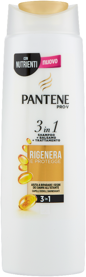 SHAMPOO 3IN1 PANTENE 225ML RIG.PROT.