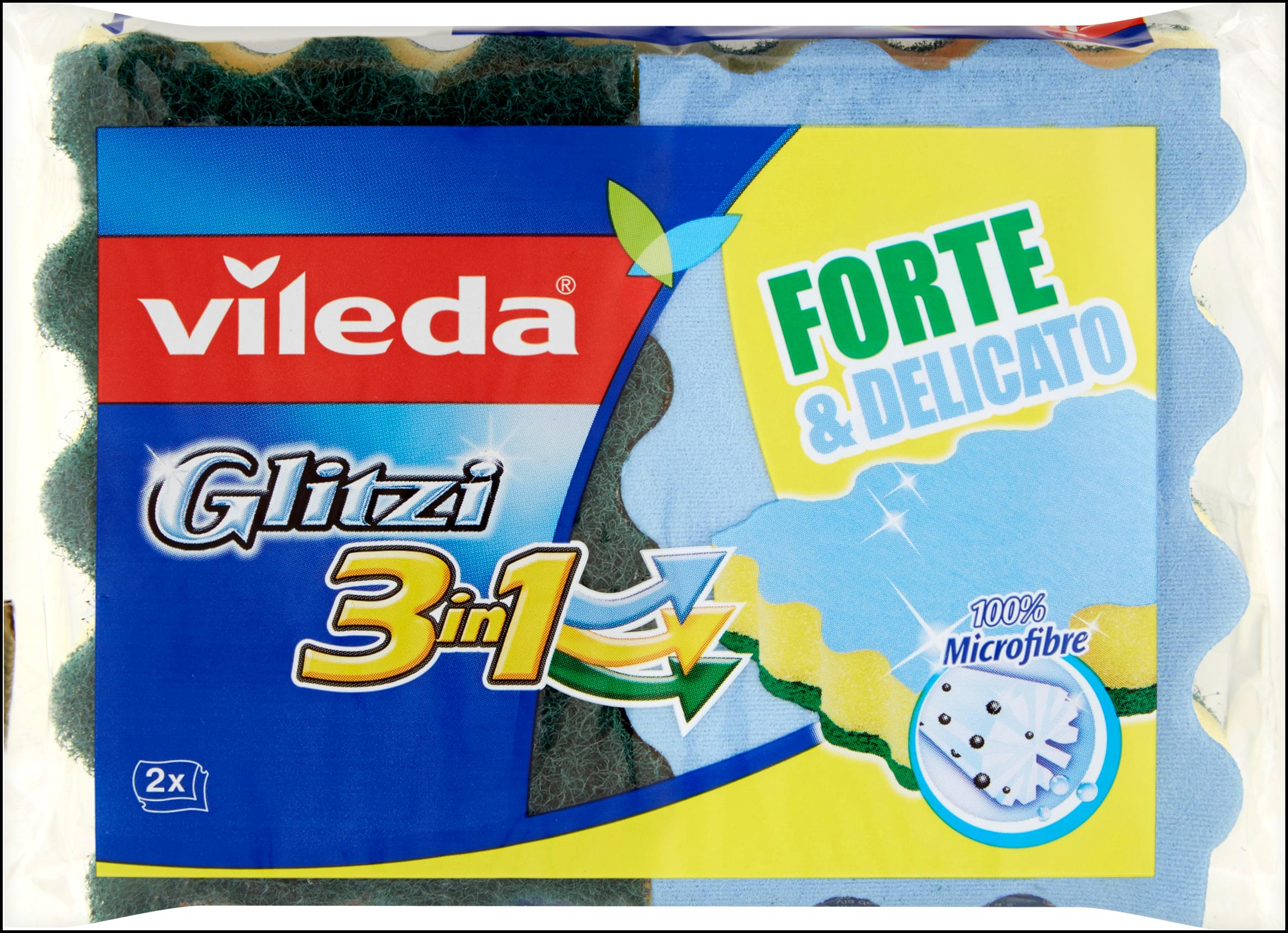 SPUGNA ABR.VILEDA GLITZI 3IN1 2 PZ