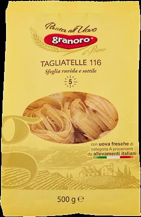 TAGLIATELLE UOVO GRANORO 500G N.116