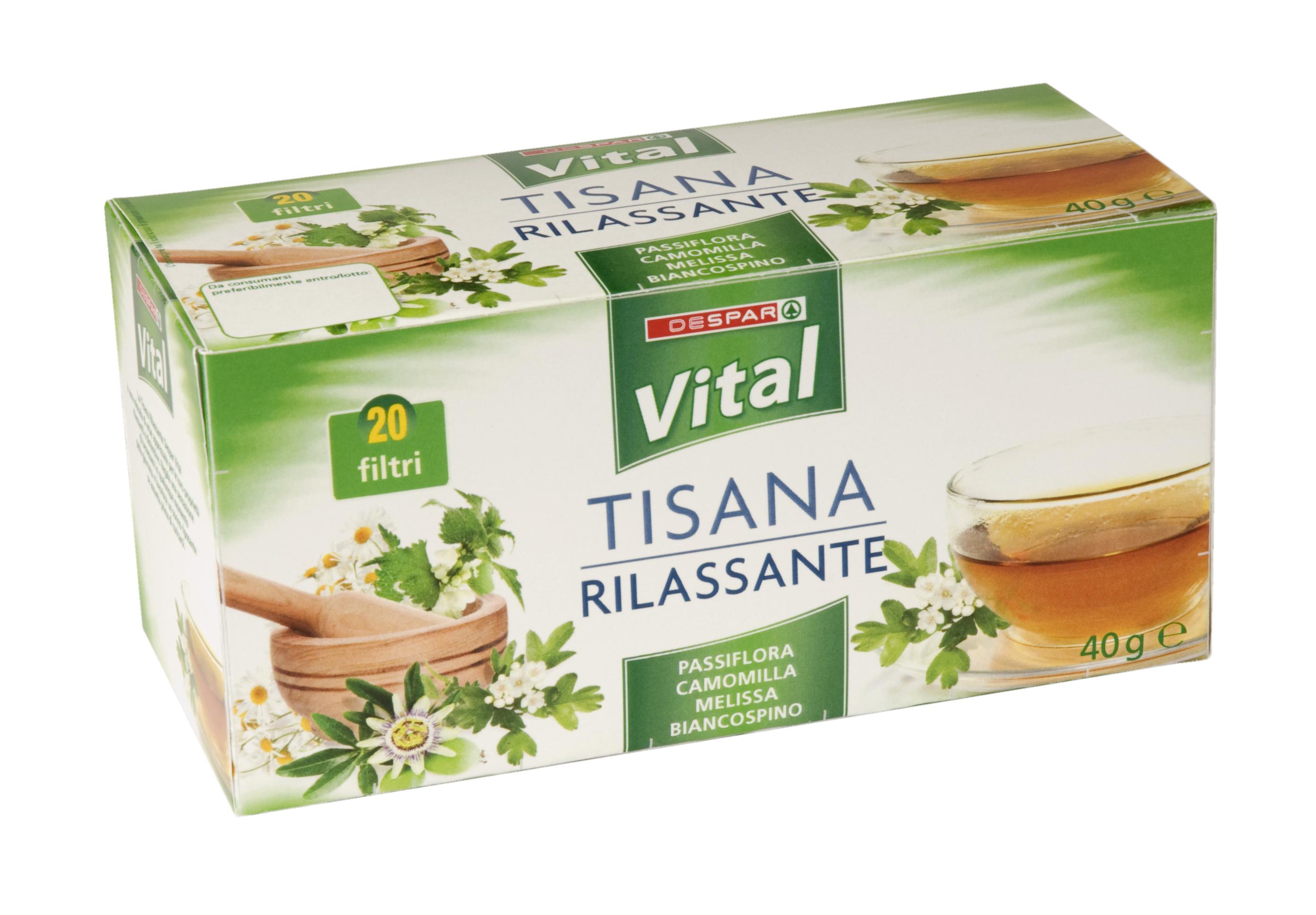 TISANA  RILASSANTE 20F  VITAL  40g
