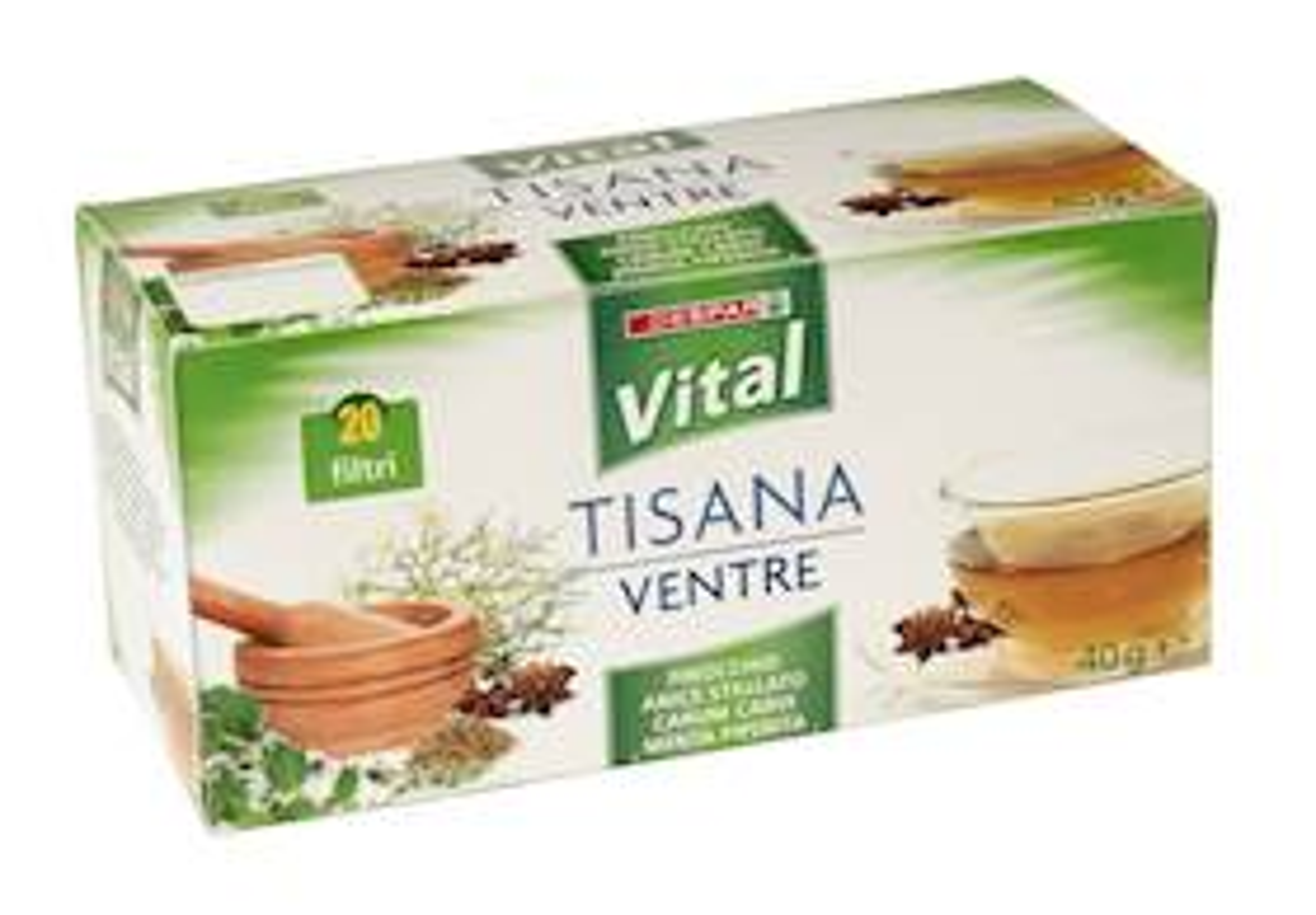 TISANA  VENTRE 20F  VITAL  40g