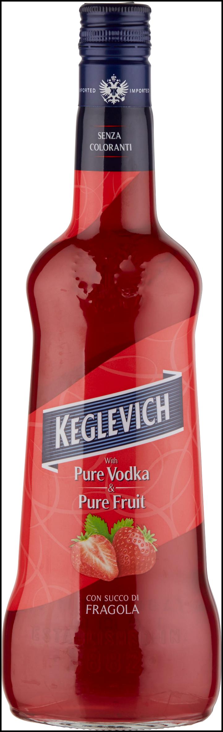 VODKA KEGLEVICH FRAGOLA CL.70