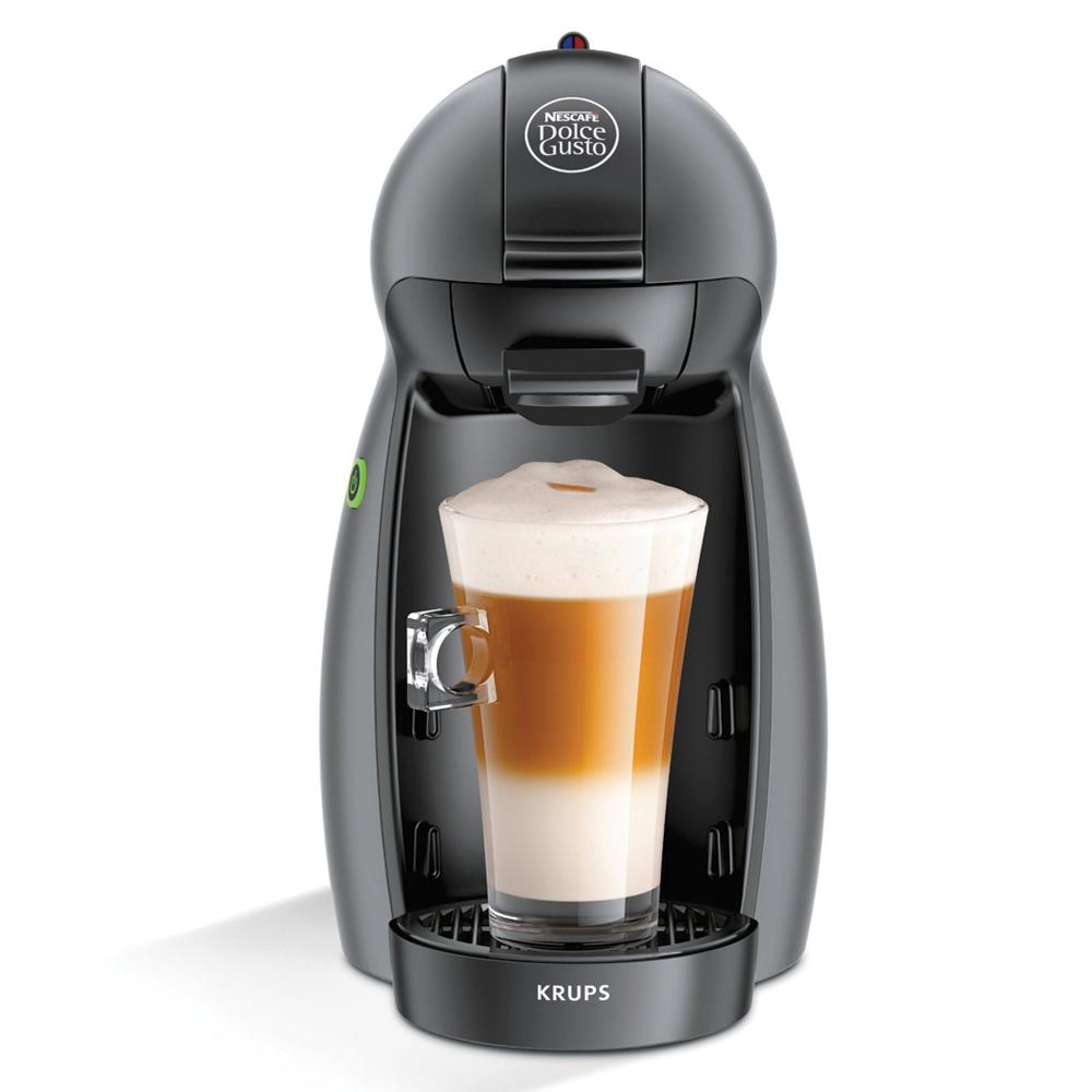 Image of Macchina per Caffé Espresso e Altre Bevande Nescafé Dolce Gusto Piccolo Krups Antracite KP100BK 1520198