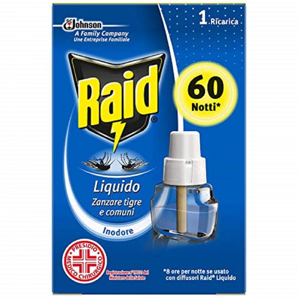 RAID RICARICA  60 NOTTI INODORE