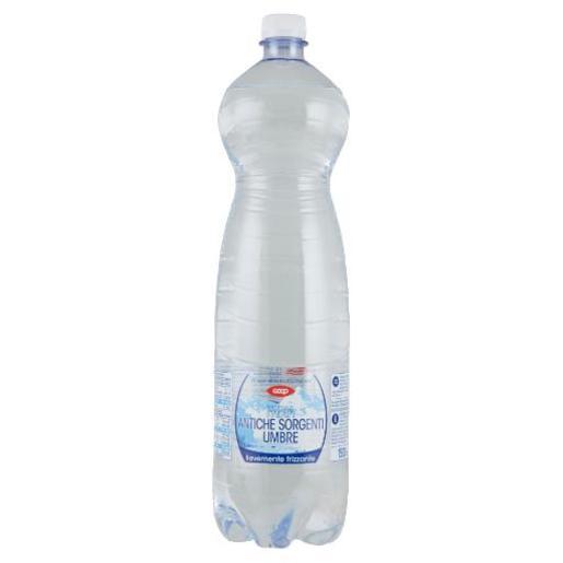 Acqua Minerale Lievemente Frizzante Sorgenti Umbre Coop