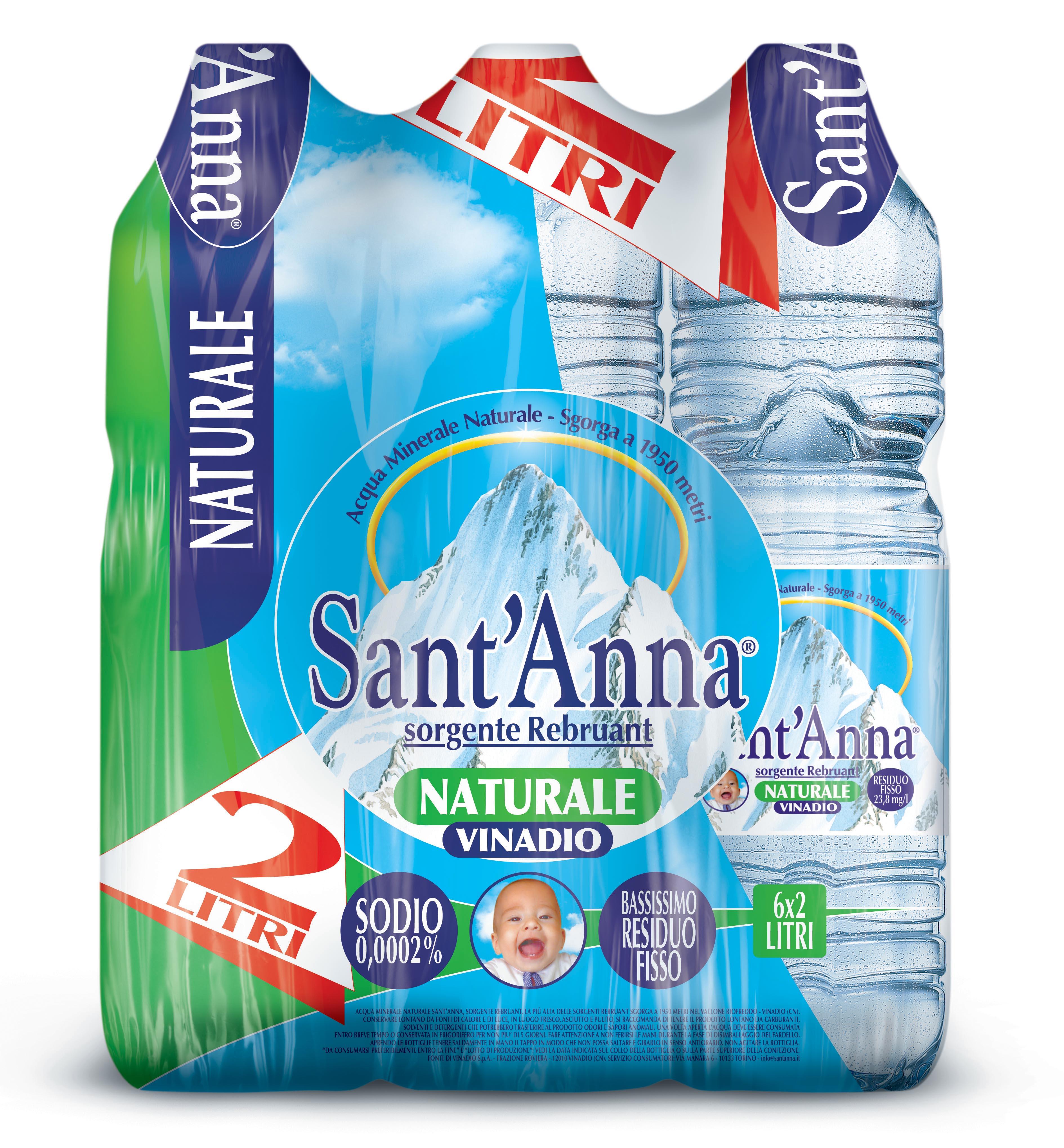 Acqua sant anna prezzo raccordi tubi innocenti for Acqua blues eurospin