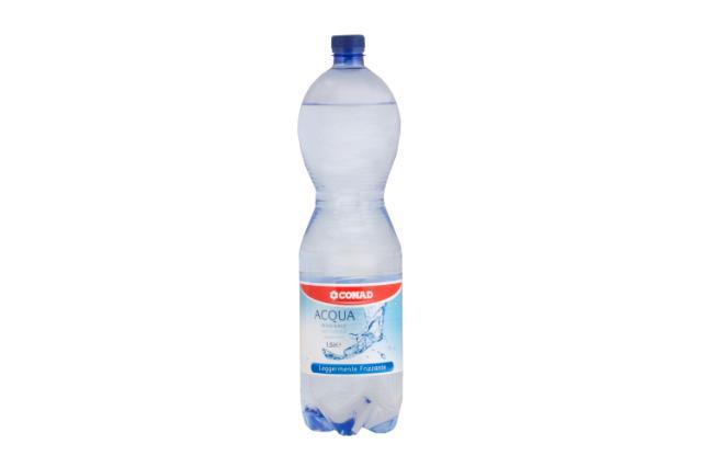 Acqua leggermente frizzante Conad