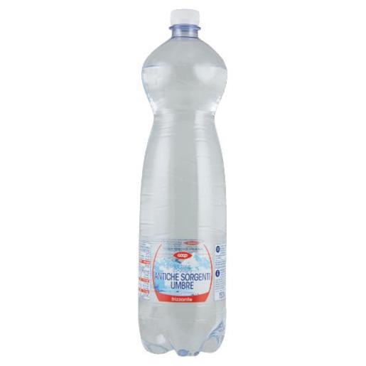 Acqua minerale frizzante Sorgenti umbre Coop