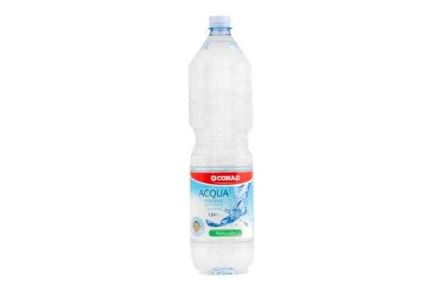 Acqua minerale naturale Conad