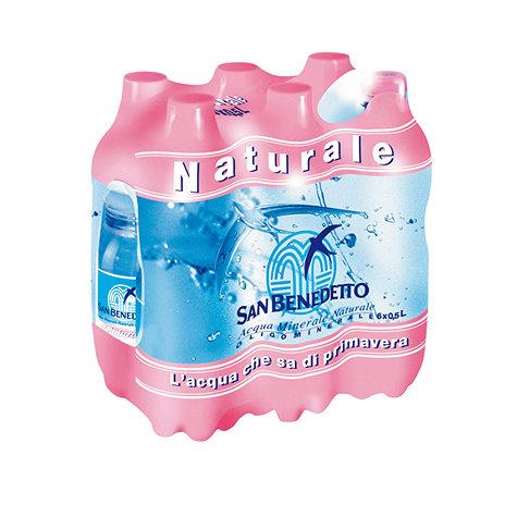 Acqua naturale piccola San Benedetto