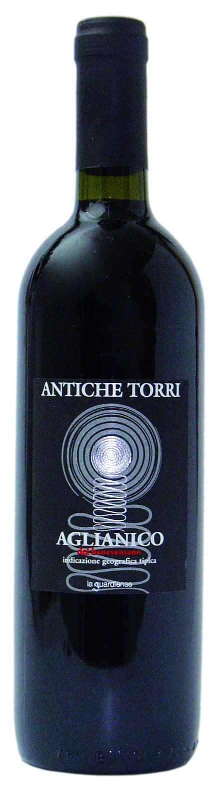 Aglianico Beneventano vino rosso ANTICHE TORRI