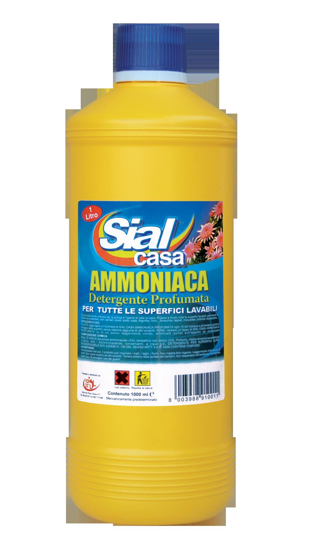 Ammoniaca profumata sial sial offerte e promozioni - Casa pulita e profumata ...