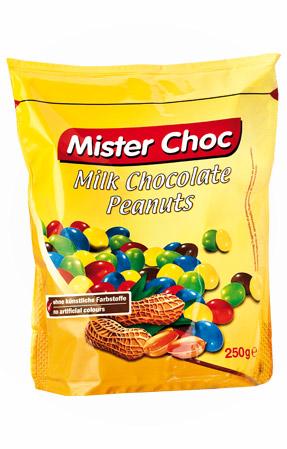 Arachidi al cioccolato Mister choc