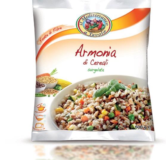 Armonia di cereali Il Mediterraneo a tavola