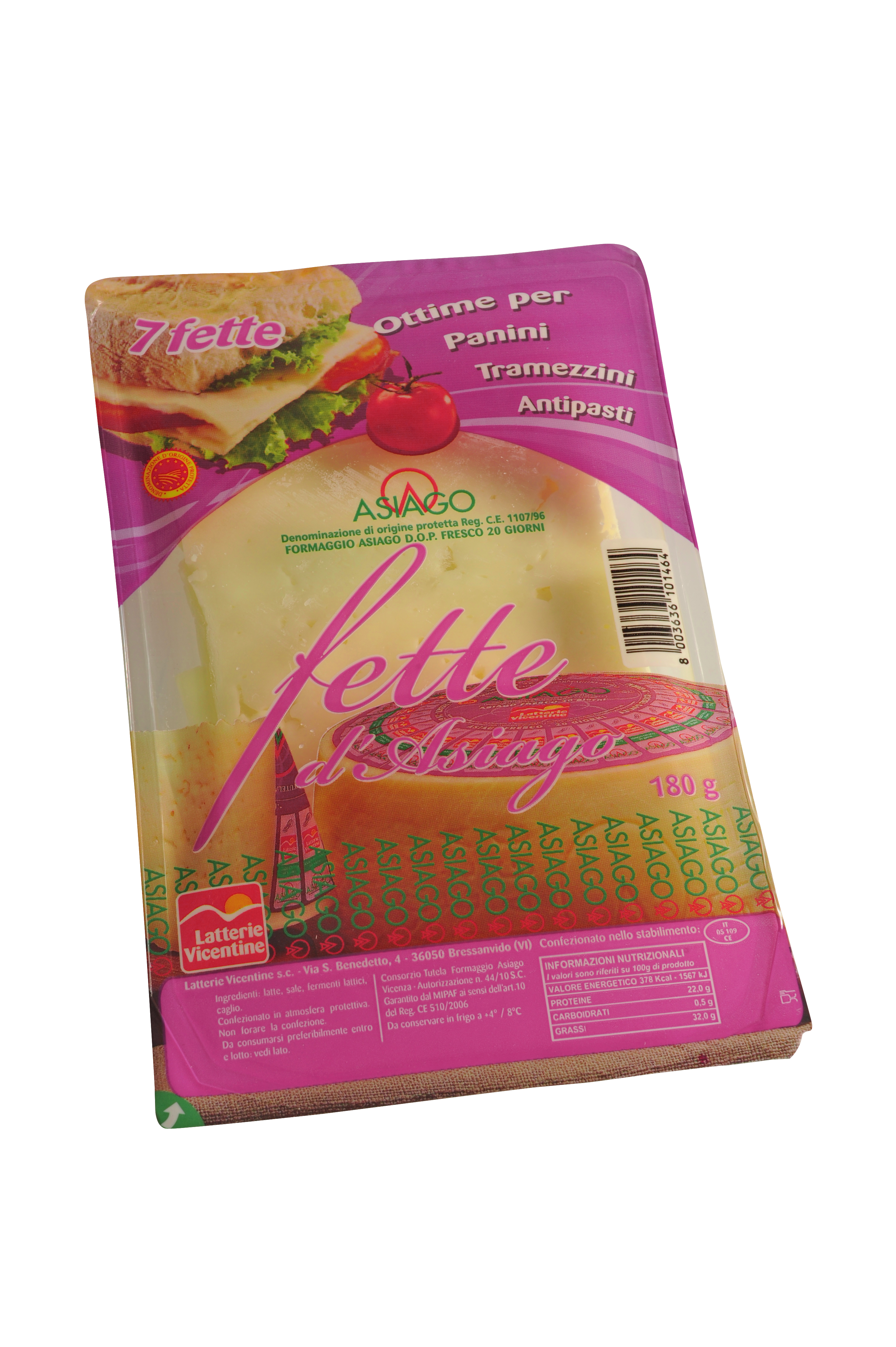 Asiago a fette latterie vicentine latterie vicentine for Asiago offerte