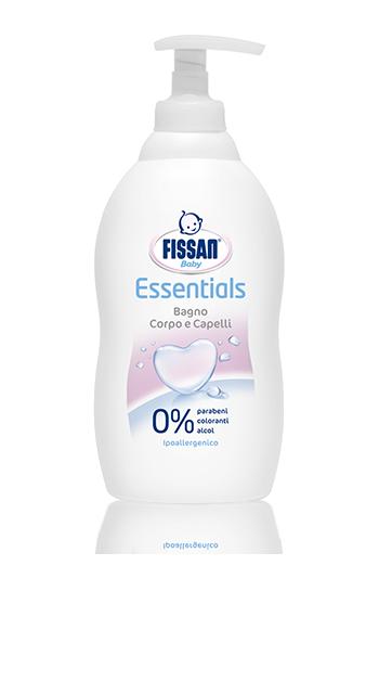 Bagno Corpo e Capelli Essential Fissan