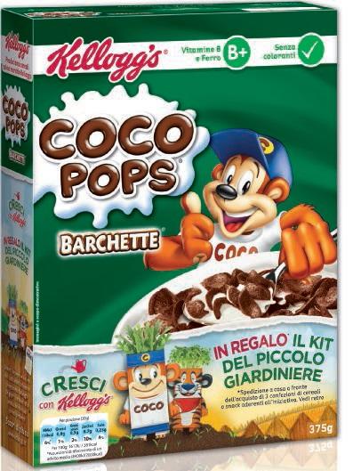 Barchette Coco Pops Kellogg's