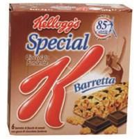 Barrette Special k di kellogg's al cioccolato fondente