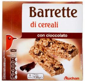 Barrette di cereali auchan auchan offerte e promozioni - Auchan porta di roma offerte ...