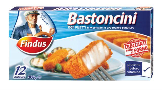 Bastoncini di pesce Findus