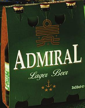 Birra Admiral bottiglia