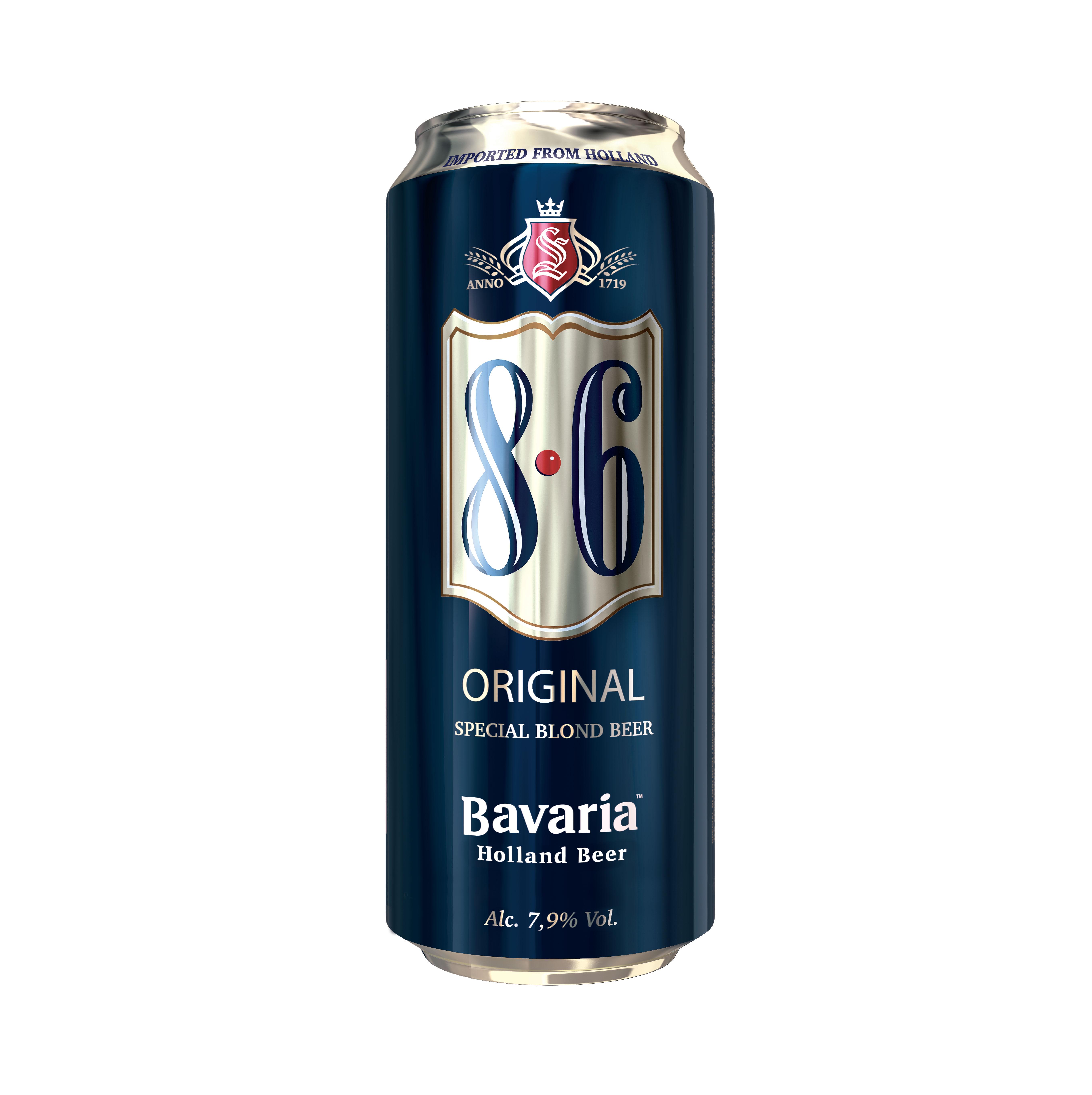 Birra Bavaria 8.6 in lattina
