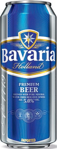 Birra Bavaria in lattina