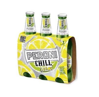 Birra Peroni Chill Lemon
