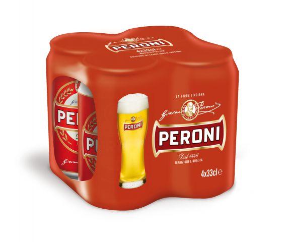 Birra Peroni in lattina