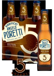 Birra Poretti ai 5 luppoli
