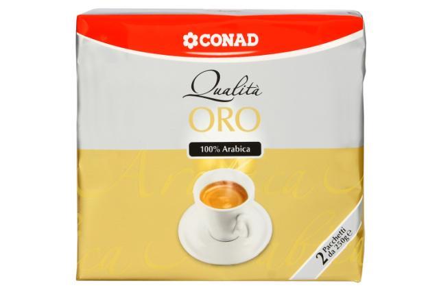 Caffè 100% arabica Conad