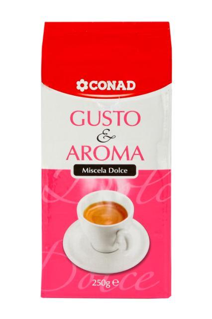 Caffè Gusto & Aroma dolce Conad