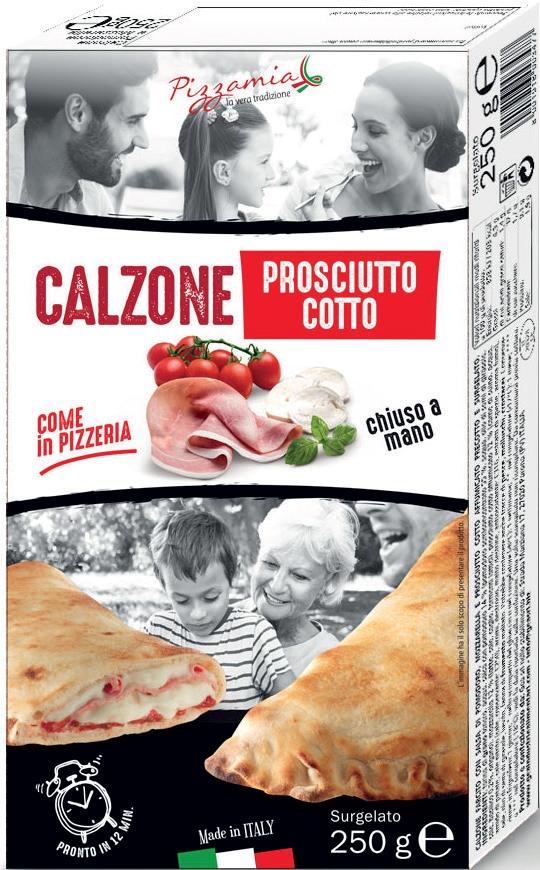 Calzone al proscittu cotto Pizzamia