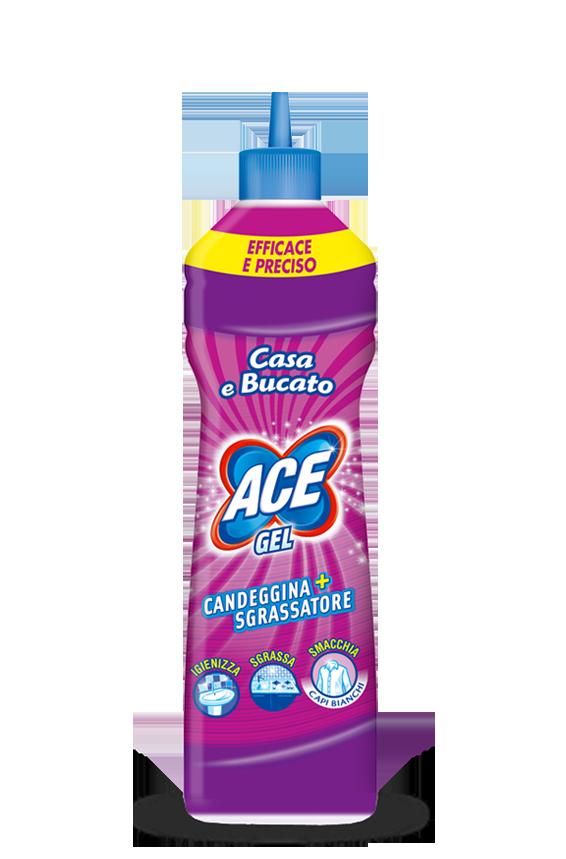 Candeggina wc gel Ace potere igienizzante