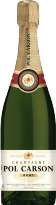 Champagne brut pol carson pol carson offerte e for Super u champagne