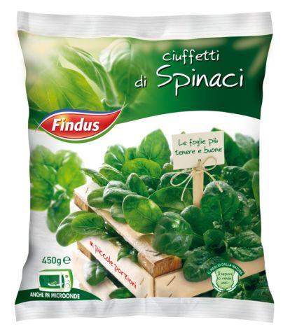 Ciuffetti di spinaci Findus