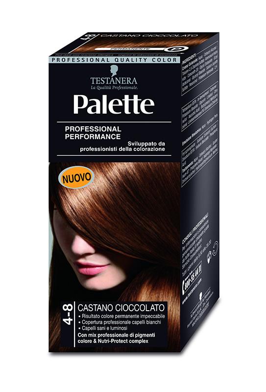 Colorazione Capelli 4-8 Castano Ciocc Palette