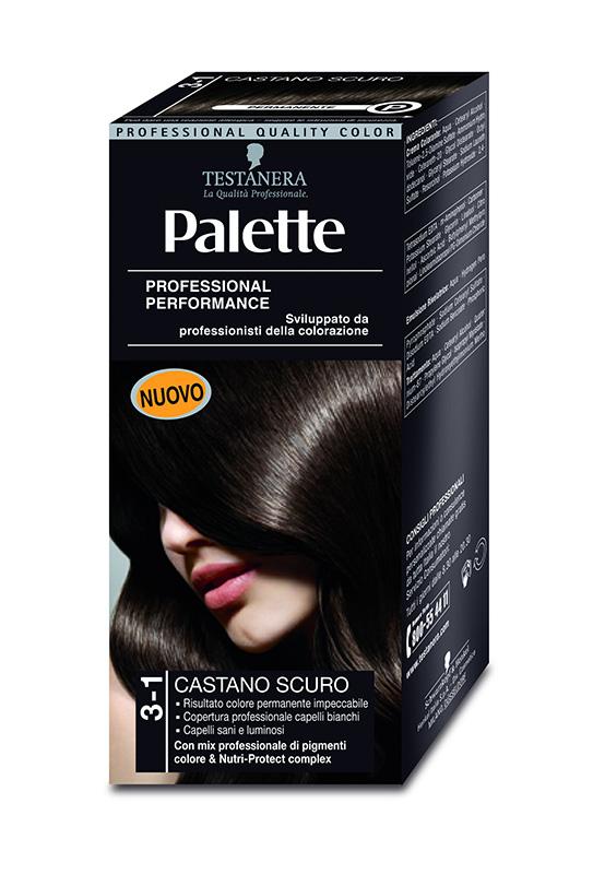 Colorazione capelli Palette Testanera