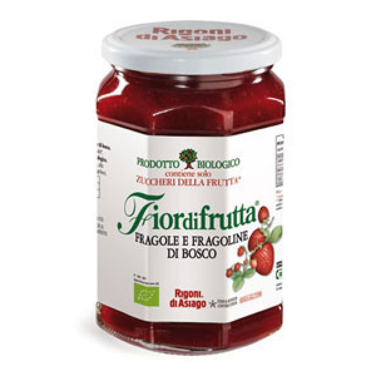 Confettura bio alla fragola rigoni rigoni di asiago for Asiago offerte