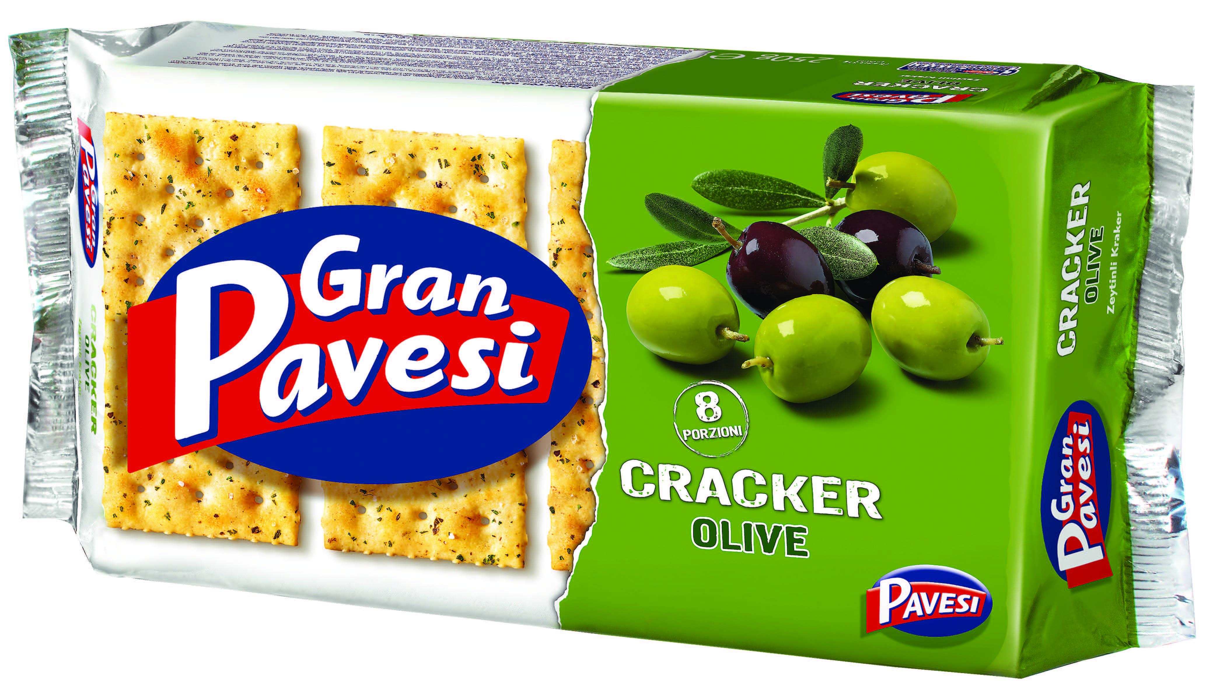 Cracker alle olive Gran Pavesi
