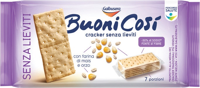 Senza Lievito Crackers Senza Lievito