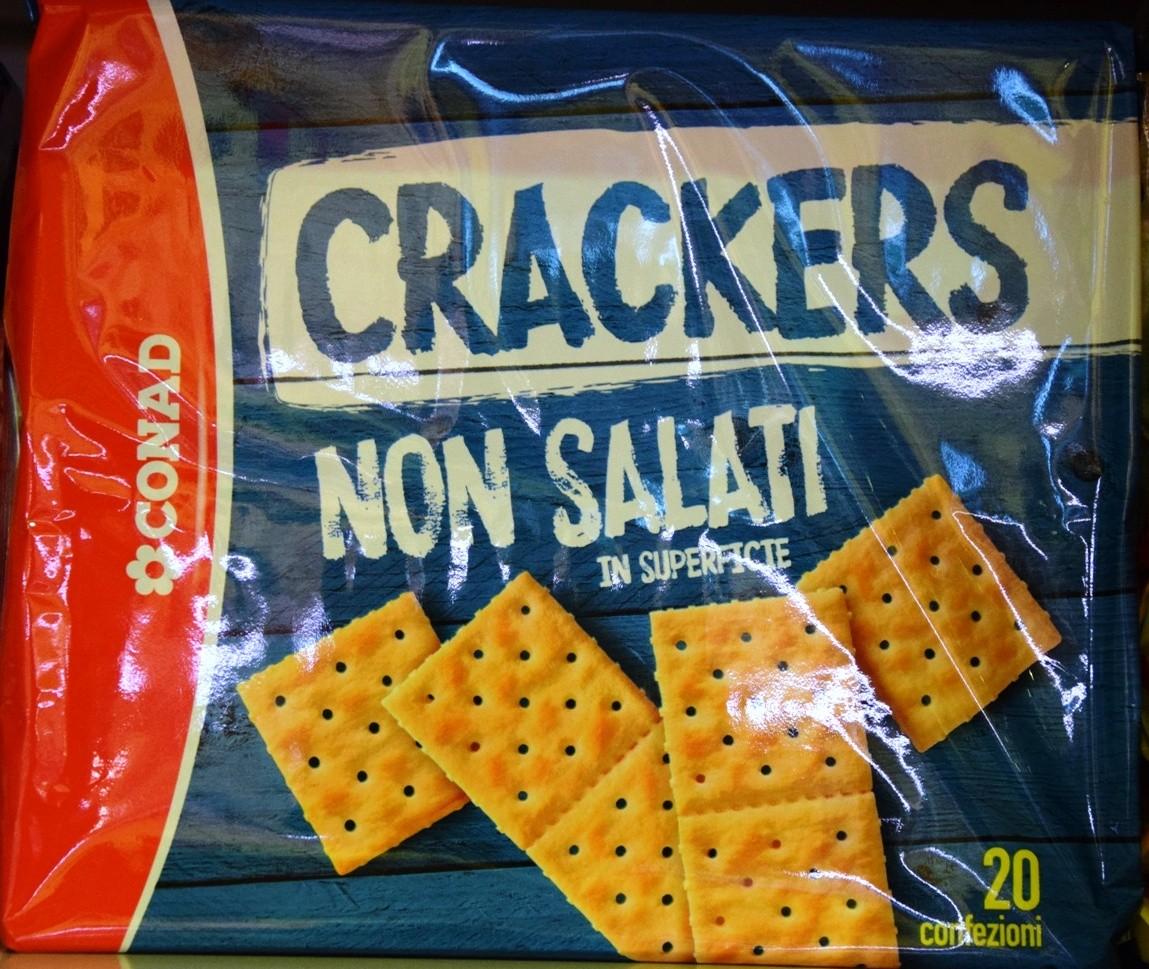 Crackers non salati Conad
