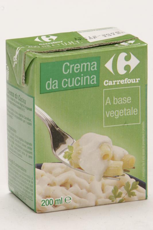 Crema da cucina vegetale Carrefour