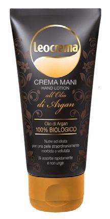 Crema mani all'olio di argan Leocrema